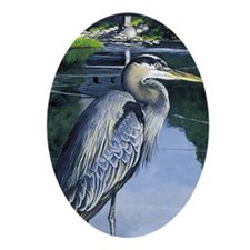 Blue Heron Ornament