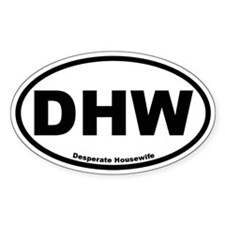 DHW Oval Sticker (Desperate Housewife)