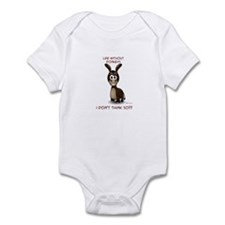 Life without donkeys Infant Bodysuit