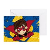 Cute Masked Superhero Greeting Cards (Pk of 10)