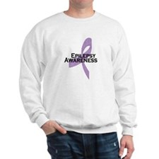 Epilepsy Awareness Ribbon Sweatshirt