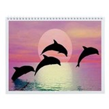 Dolphine's Cove Wall Calendar