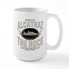 "ALCATRAZ ""THE ROCK"" Ceramic Mugs"