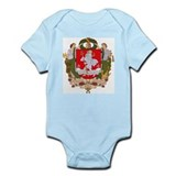 Vilnius Coat of Arms Infant Creeper