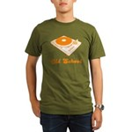 Old School Turntable Organic Men's T-Shirt (dark)