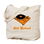 Old School Turntable Tote Bag
