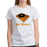 Old School Turntable Women's T-Shirt