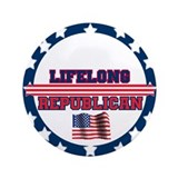 "Lifelong Republican 3.5"" Button"