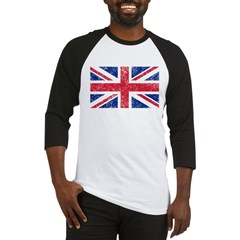British Flag Baseball Jersey