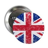 "British Flag 2.25"" Button"
