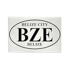 BZE Belize Rectangle Magnet (10 pack)
