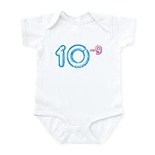 10 (-9 power, blue) Infant Bodysuit