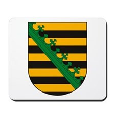 Saxony Coat of Arms Mousepad