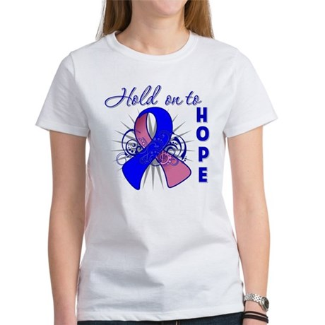 Male Breast Cancer Women's T-Shirt
