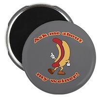 Ask Me Weiner Magnet