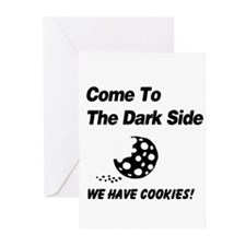Come to the Darkside Greeting Cards (Pk of 10)