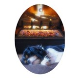 Cavalier King Charles Hoiday Ornament (Oval)