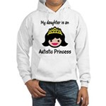 Autistic Princess Hooded Sweatshirt