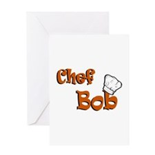 CHEF Bob Greeting Card