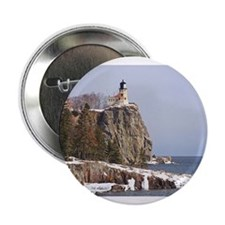 "Split Rock Lighthouse 2.25"" Button"