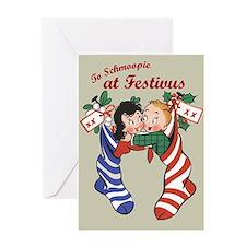 To Schmoopie, at Festivus Card