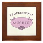 Daughter Humor Framed Tile