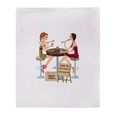 Seminole Sushi Girls Throw Blanket