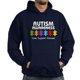 Love Support Educate Hoody