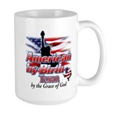 American by Birth, Texan by the Grace of God Ceramic Mugs