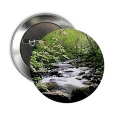 "Smokey Mountain Water Falls 2.25"" Button (100 pack"
