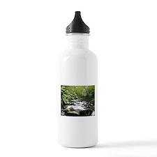 Smokey Mountain Water Falls Water Bottle