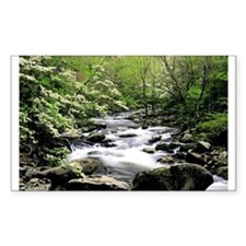 Smokey Mountain Water Falls Decal