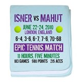 Isner Epic Match baby blanket