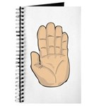 Hand - Stop Sign Journal