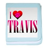 I Heart Travis Infant Blanket