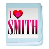 I Heart Smith Infant Blanket