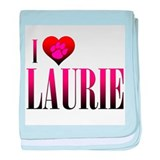 I Heart Laurie Infant Blanket
