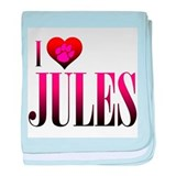 I Heart Jules Infant Blanket