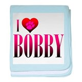 I Heart Bobby Infant Blanket