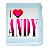 I Heart Andy Infant Blanket