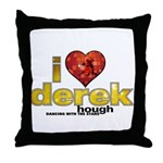 I Heart Derek Hough Throw Pillow