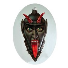 Krampus Ornament (Oval)