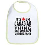 Canadian Thing Bib