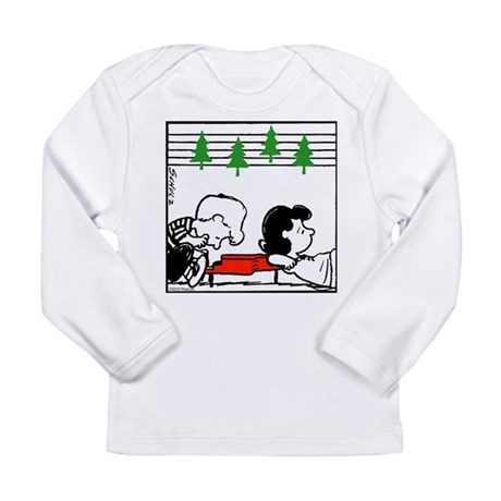 Christmas Tree Melody Long Sleeve Infant T-Shirt