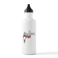 Fractured Girl Water Bottle