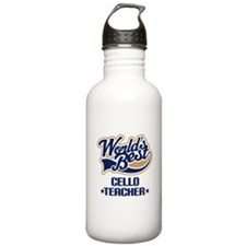Cello Teacher Sports Water Bottle