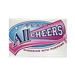 Team All Cheers! Rectangle Magnet