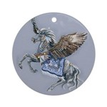 North Wind Ornament (Round)