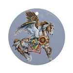 South Wind Ornament (Round)