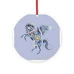 West Wind Ornament (Round)